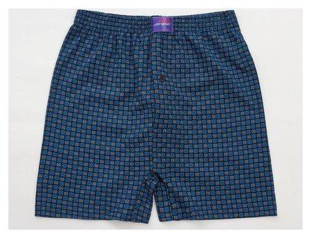 Трусы мужские шорты, цвет синий, размер 54-56 Ata sport