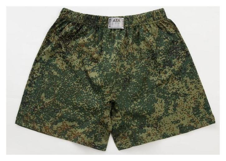 Трусы мужские шорты, цвет камуфляж, размер 54-56 Ata sport