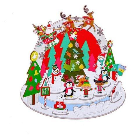 Набор для творчества - создай новогоднее украшение «На северном полюсе» Школа талантов