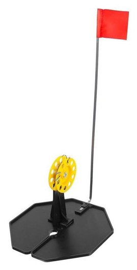 Набор жерлиц в сумке «Тонар» жзо-04 D=185 мм, катушка D=63 мм, набор 10 шт.  Тонар