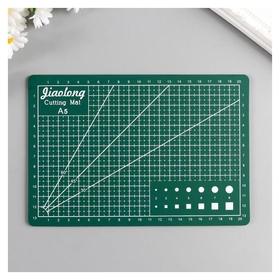 Резиновый мат для творчества формат А5 21х14,8 см толщина 3 мм  Лас Играс