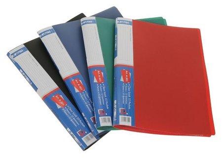Папка формат А4 с 10 прозрачными файлами  Calligrata