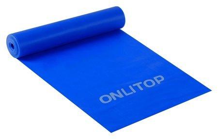 Эспандер ленточный для фитнеса, 150 х 15 х 0,04 см, нагрузка 10 кг Onlitop