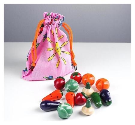 «Волшебный мешочек» овощи цветные  RNToys