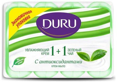 Мыло туалетное Soft Sens Зеленый чай  Duru