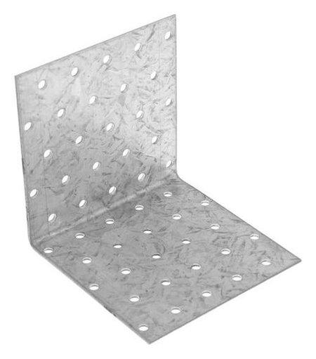 Уголок крепёжный Tundra, 100 х 100 х 100 х 2 мм, оцинкованный, в упаковке 1 шт.  Tundra