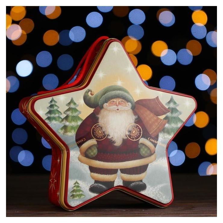 Новогодний подарок «Звезда» 550 г  Самарский кондитер