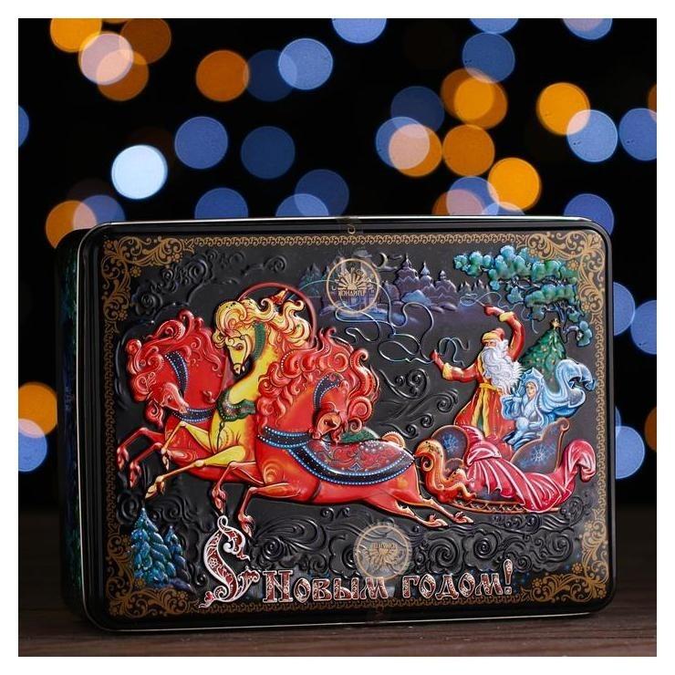 Новогодний подарок «Шкатулка чудо» 700 г  Самарский кондитер