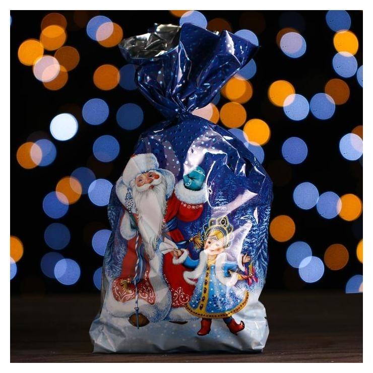 Новогодний подарок «Мешок деда мороза» средний 700 г  Самарский кондитер