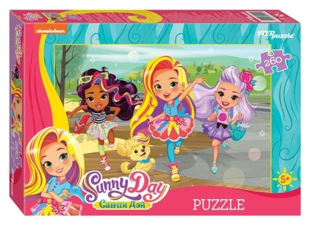 Пазл 260 элементов Sunny Day  Step puzzle