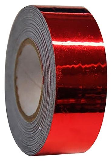 Обмотка для гимнастических булав и обручей New Versailles с эффектом зеркального отражения, цвет красный  Pastorelli