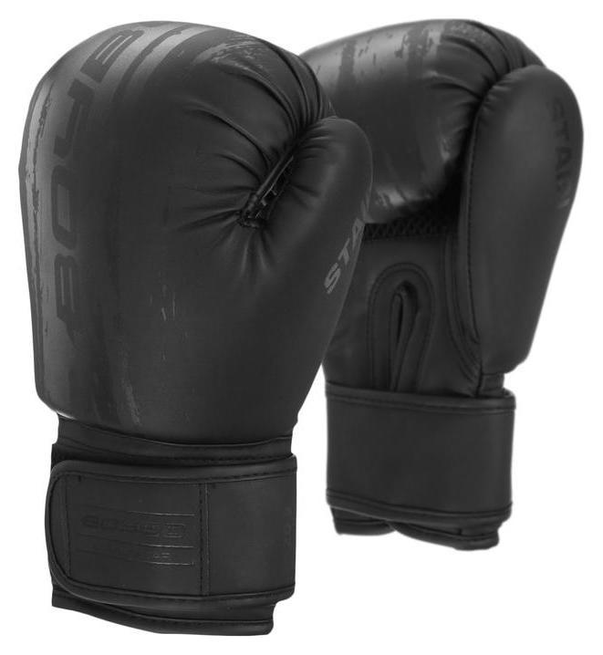 Перчатки боксёрские Boybo Stain, флекс, цвет чёрный, 10 унций  NNB