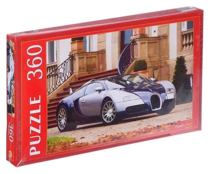 Пазлы 360 элементов «Автомобиль у парадного входа»  Рыжий кот