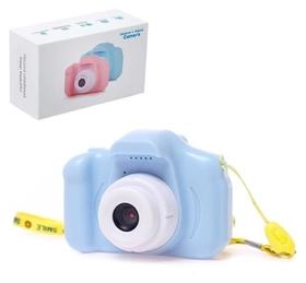 """Детский фотоаппарат """"Начинающий фотограф"""", цвет голубой"""