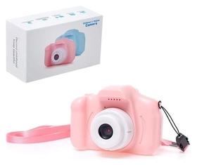 """Детский фотоаппарат """"Начинающий фотограф"""", цвет розовый"""