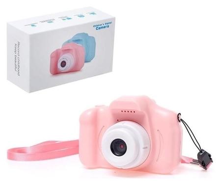 Детский фотоаппарат Начинающий фотограф, цвет розовый NNB
