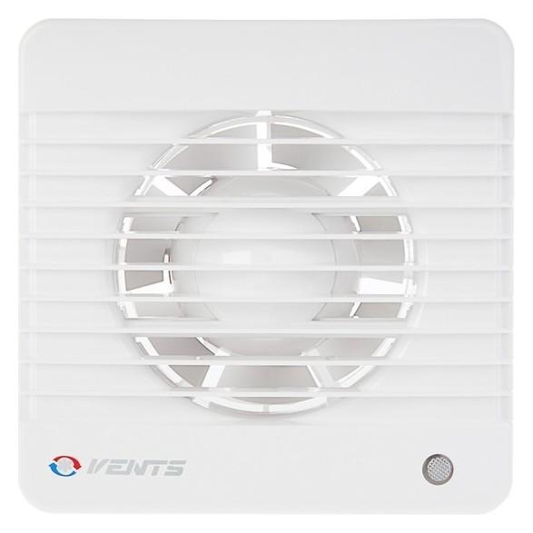 Вентилятор вытяжной Vents 100 МК, D=100 мм, 220-240 В, с обратным клапаном, цвет белый  Vents