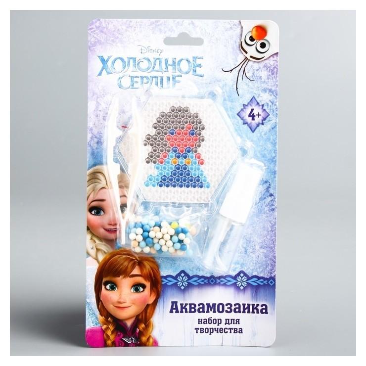"Аквамозаика ""Анна"", холодное сердце  Disney"