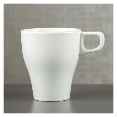 """Кружка """"Грация"""" белая, 300 мл  Керамика ручной работы"""