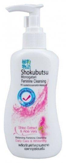 Гель для интимной гигиены с экстрактом Шисо Алоэ вера Shokubutsu Shiso Extract