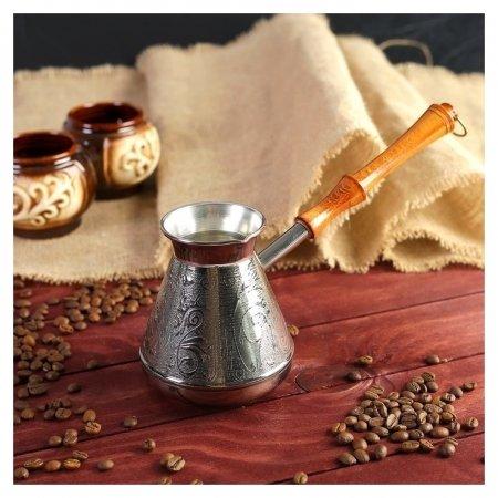 """Турка для кофе медная """"Орнамент"""", 0,5 л  NNB"""