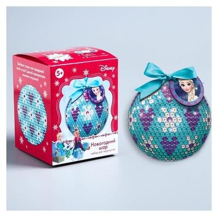 Новогодний ёлочный шар для декорирования, холодное сердце  Disney