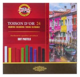 Пастель сухая художественная 24 цвета, Soft Koh-i-noor Toison D`or 8584  Koh-i-noor