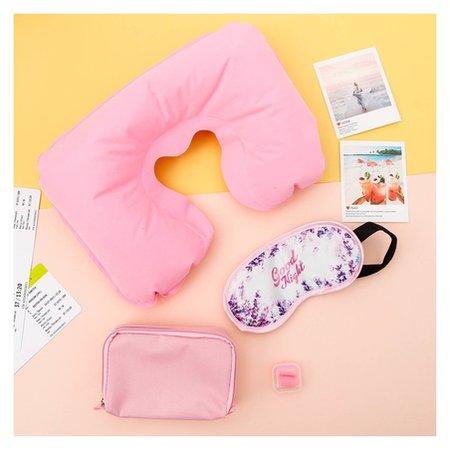 Дорожный набор «Good Night»: подушка, маска для сна, беруши  NNB