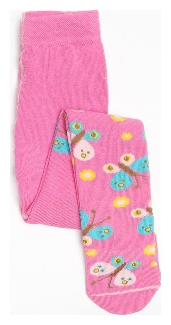 Колготки для девочки, цвет розовый, рост 80-86 см Носкофф