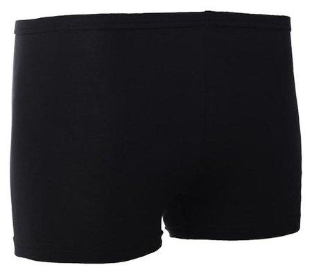 Шорты гимнастические, размер 40, цвет чёрный  Grace dance