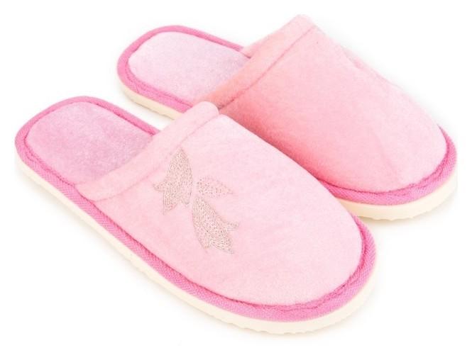 Тапочки женские, цвет розовый, размер 36/37  NNB