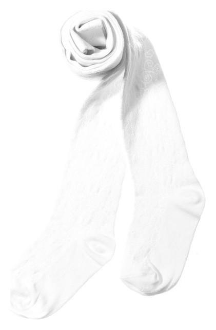 Колготки детские, цвет белый, рост 146-152  Peppy woolton