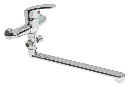 Смеситель для ванны Roegen Rc100a, однорычажный, с душевым набором, цинк, хром  Roegen