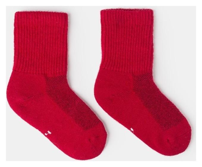 Носки детские шерстяные, цвет красный, размер 18-20 см (5) Тод оймс