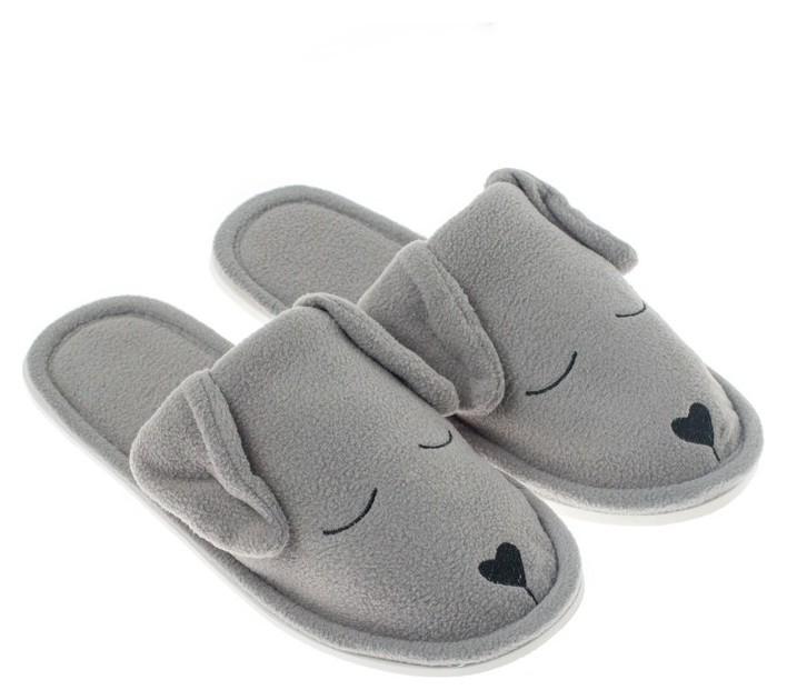 Тапочки женские TAP Moda, цвет серый, размер 35  NNB