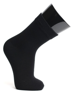 Носки детские, цвет чёрный, размер 24  Сибирь