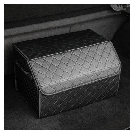 Саквояж в багажник автомобильный Ht-089, 48х30х28 см, экокожа  C2R