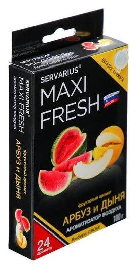 Ароматизатор Maxi Fresh, арбуз дыня, под сиденье  Maxi fresh