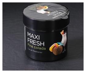 "Ароматизатор Maxi Fresh банка 100 гр. ""Pinacolada""  Maxi fresh"