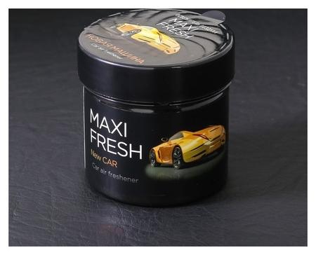 "Ароматизатор Maxi Fresh банка 100 гр. ""Новая машина""  Maxi fresh"