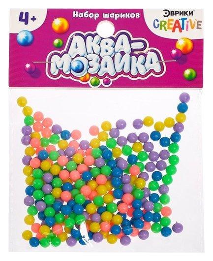 Набор шариков «Аквамозаика», дополнительные детали  Эврики