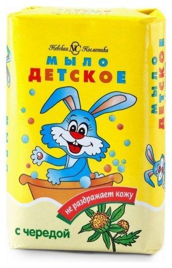 Мыло детское череда Невская косметика