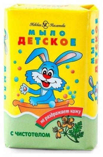 Мыло детское чистотел  Невская косметика