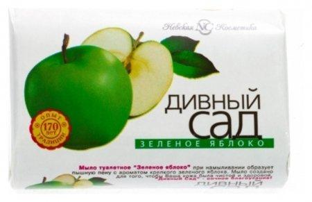 Мыло туалетное Зеленое яблоко  Невская косметика