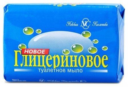 Мыло туалетное глицериновое   Невская косметика