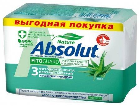 Мыло Алоэ антибактериальное  Absolut
