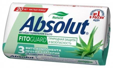Мыло туалетное FitoGuard антибактериальное Алоэ   Absolut