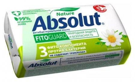 Мыло туалетное FitoGuard антибактериальное Ромашка   Absolut