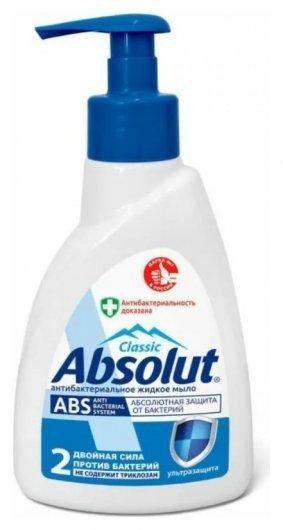 Мыло жидкое антибактериальное ABS Антивирус   Absolut