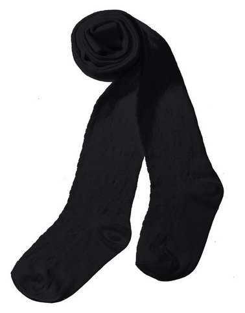 Колготки детские, цвет чёрный, рост 134-140  Peppy woolton